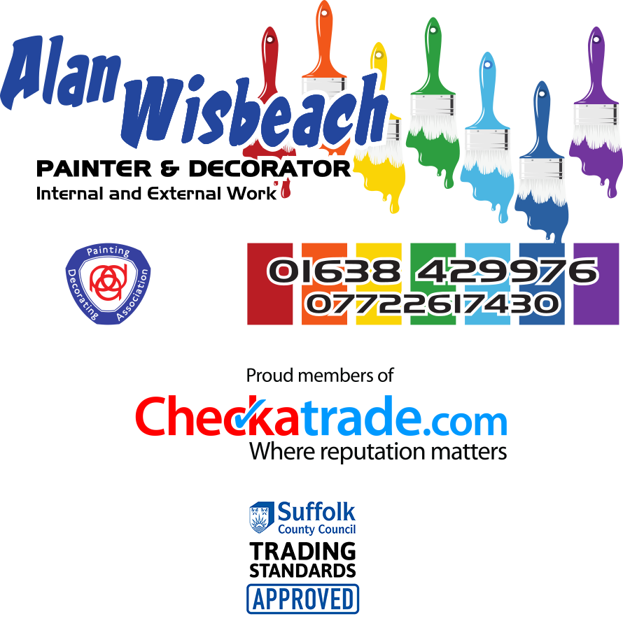 Alan Wisbeach Painting and Decorating Banner