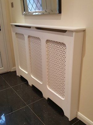 Radiator Cover Refitted (After)
