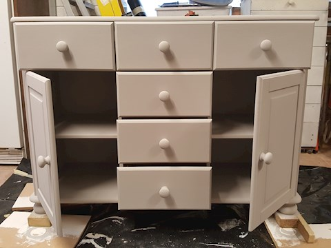 Sideboard Decoration (During)