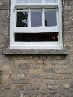 Sash Window Sill Replacement and Decorations, Newmarket (After)