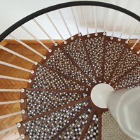 Spiral Staircase Work (After)
