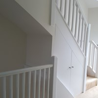 Staircase Decorations (After)